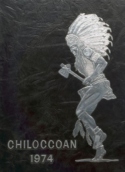 1974 Chilocco Indian School Yearbook Cover