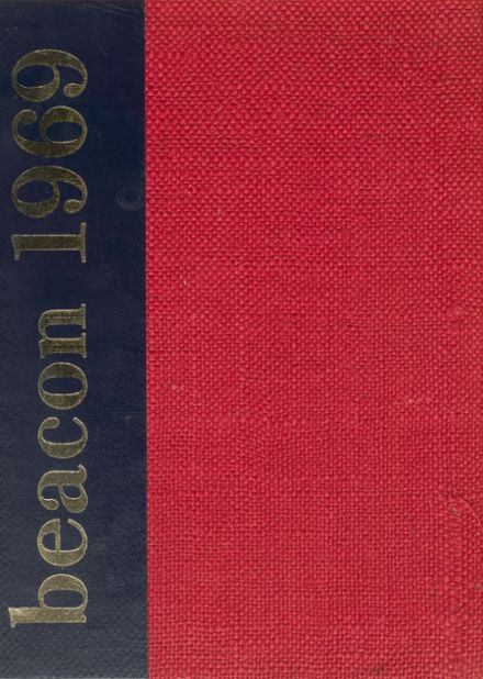 1969 Peachtree High School Yearbook Cover