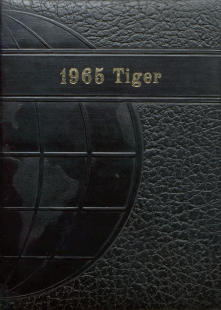 1965 Worth County R-III High School Yearbook Cover