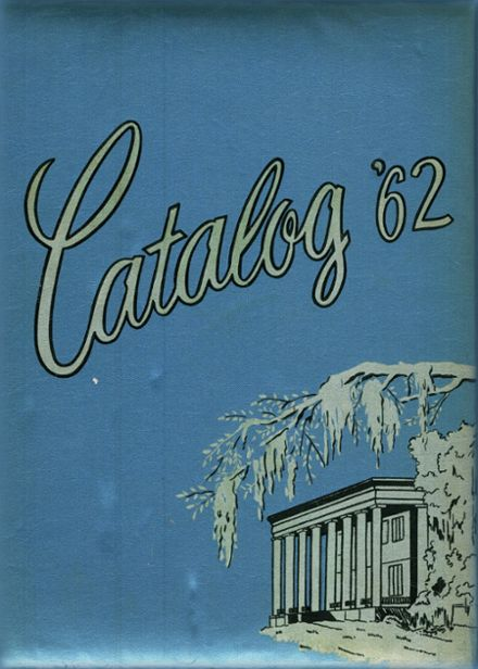 1962 Lake Charles High School Yearbook Cover