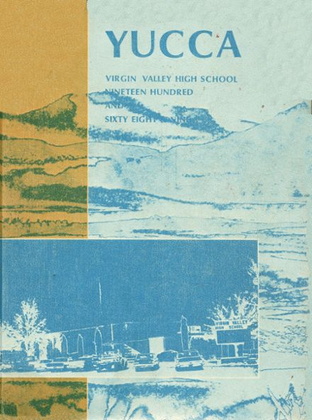 1969 Virgin Valley High School Yearbook Cover