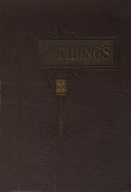 1927 Anderson High School Yearbook Cover