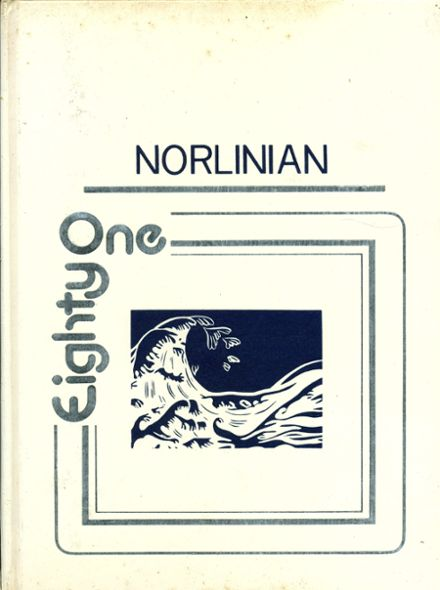 1981 Norlina High School Yearbook Cover