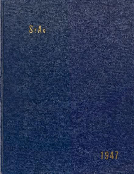 1947 St. Agnes Academy Yearbook Cover