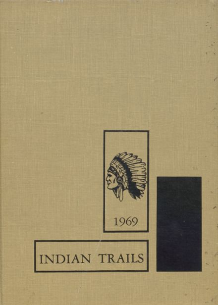 1969 Indianola High School Yearbook Cover