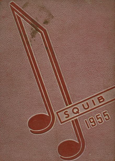 1955 Shelbyville High School Yearbook Cover