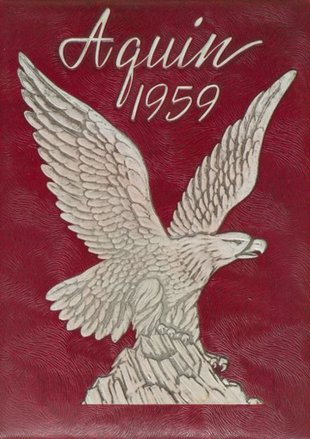 1959 St. Thomas High School Yearbook Cover