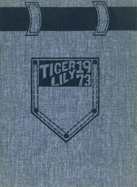 1973 Port Allegany High School Yearbook Cover