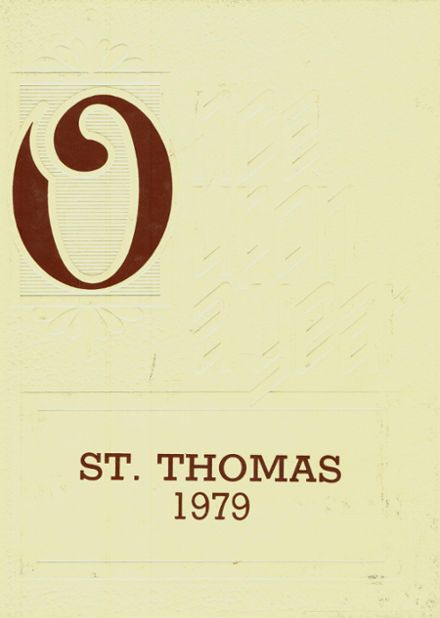 1979 St. Thomas High School Yearbook Cover