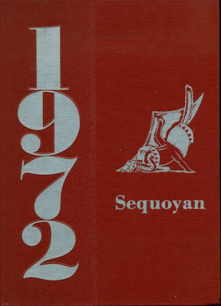 1972 Sequoyah High School Yearbook Cover