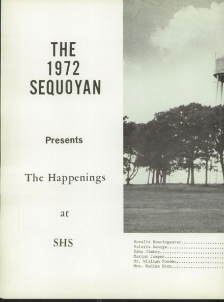 1972 Sequoyah High School Yearbook Page 4