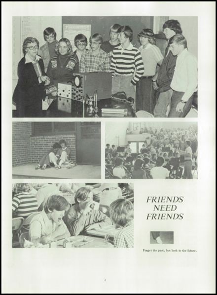 1978 Gate City High School Yearbook Page 7