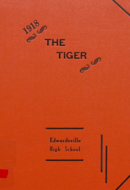 1918 Edwardsville High School Yearbook Cover