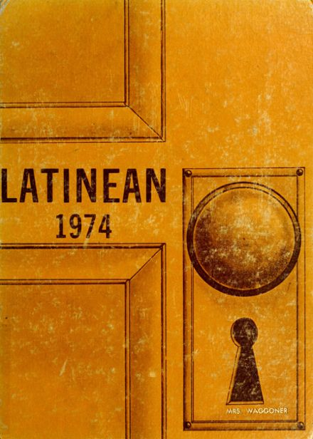 1974 Latin High School Yearbook Cover