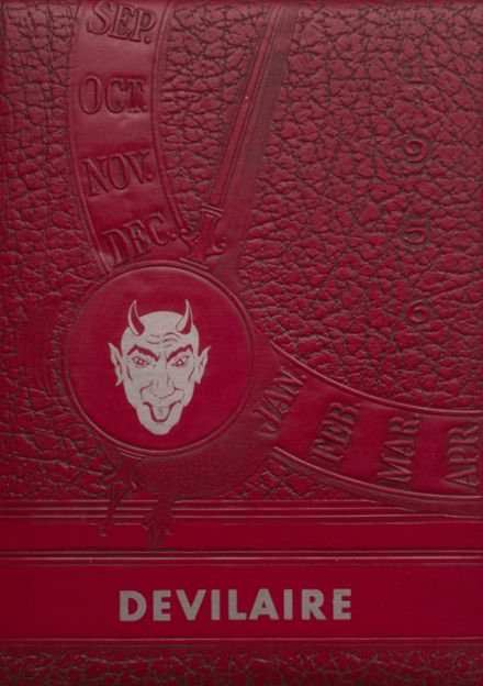 1956 Laura Conner High School Yearbook Cover