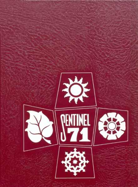 1971 Pennsville Memorial High School Yearbook Cover