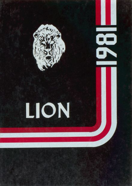 1981 Plaza High School Yearbook Cover