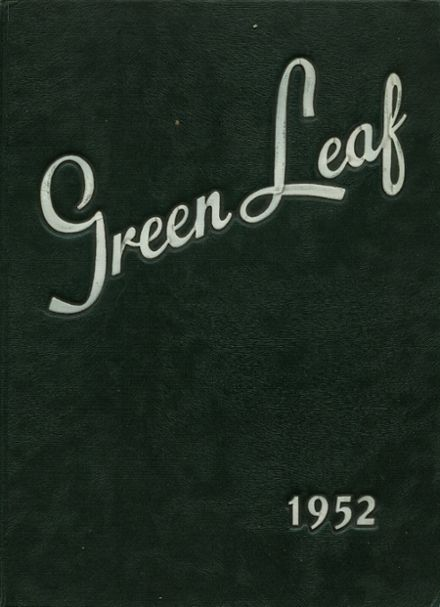 1952 Mt. Pleasant High School Yearbook Cover