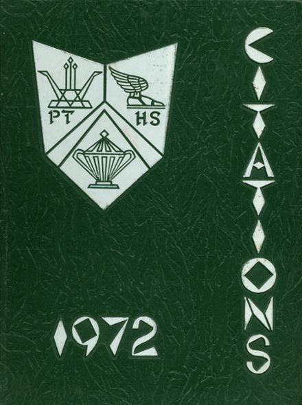 1972 Pemberton Township High School Yearbook Cover
