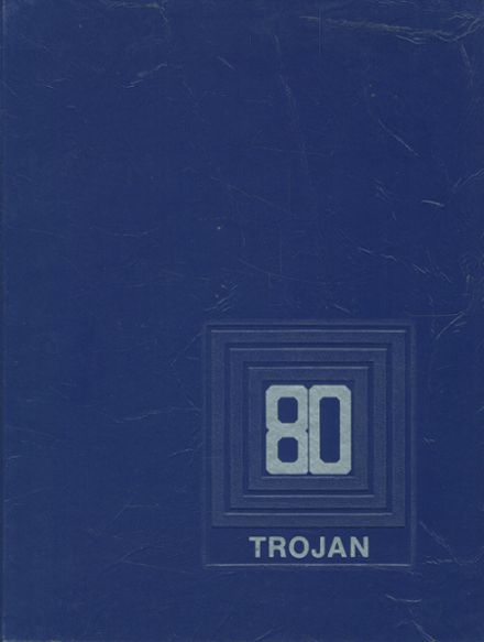 1980 Olney High School Yearbook Cover