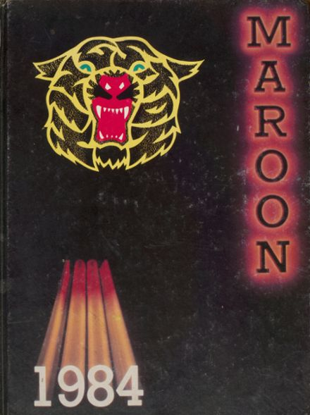 1984 Kingston High School Yearbook Cover