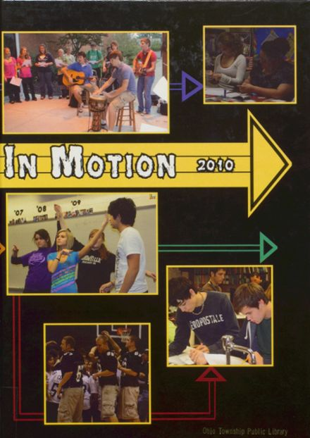 2010 Boonville High School Yearbook Cover