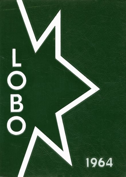 1964 Longview High School Yearbook Cover