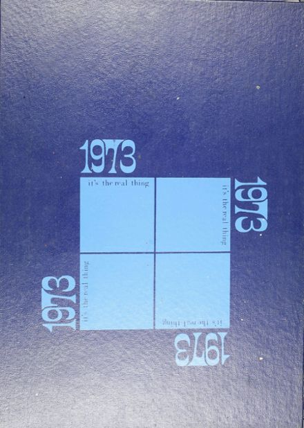 1973 Ft. Stockton High School Yearbook Cover