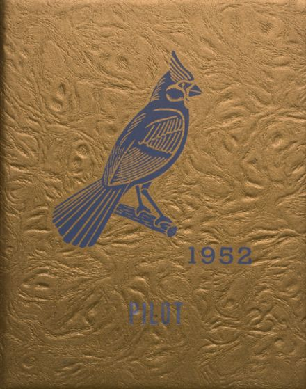 1952 North Judson-San Pierre High School Yearbook Cover