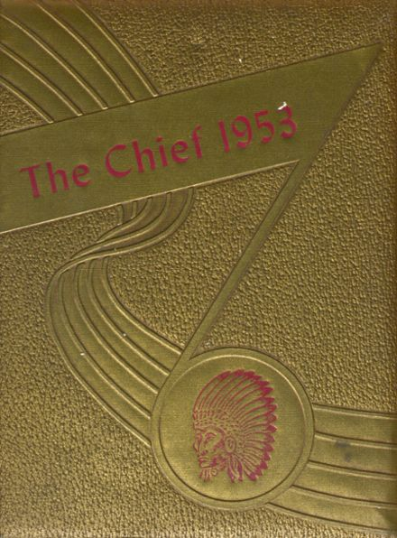 1953 Case High School Yearbook Cover