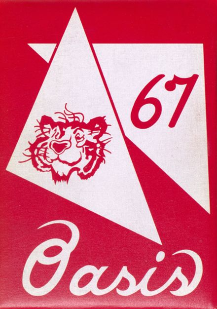 1967 Imperial High School Yearbook Cover