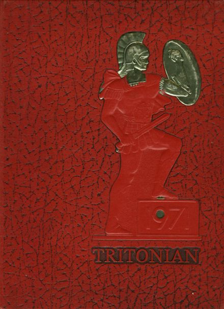 1971 Triton Regional High School Yearbook Cover
