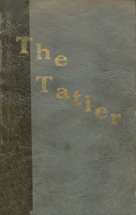 1928 Wicomico High School Yearbook Cover