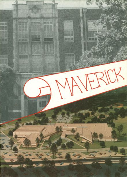 1980 Marshall High School Yearbook Cover