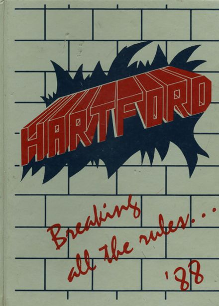 1988 Hartford High School Yearbook Cover