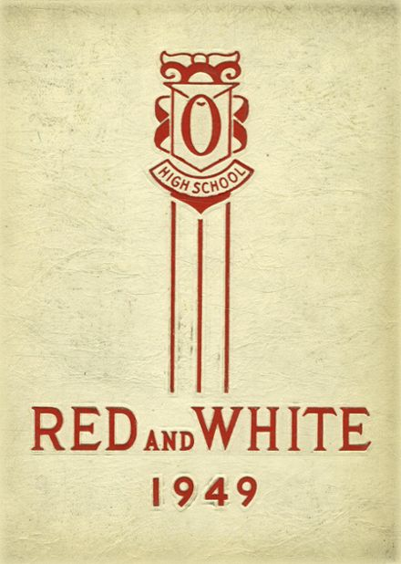 1949 Orrville High School Yearbook Cover