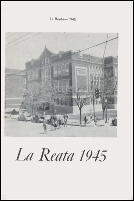 1945 Albuquerque High School Yearbook Page 3