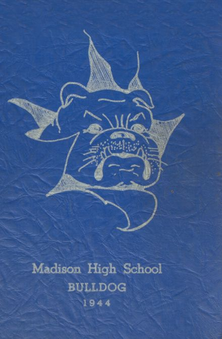1944 Madison Area Memorial High School Yearbook Cover