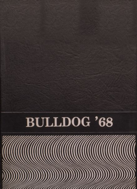 1968 White Hall High School Yearbook Cover