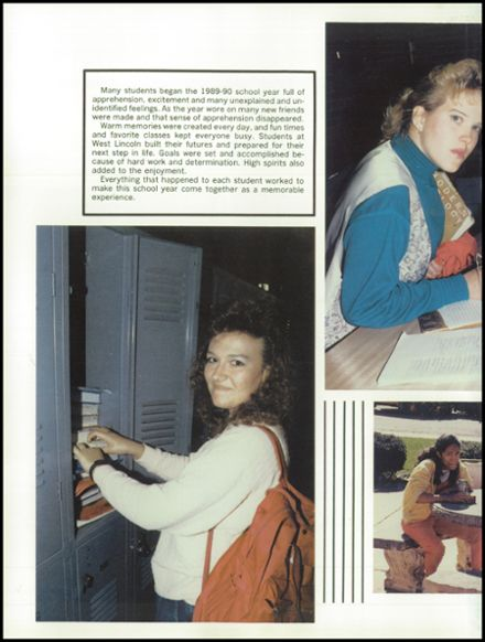 1990 West Lincoln High School Yearbook Page 6