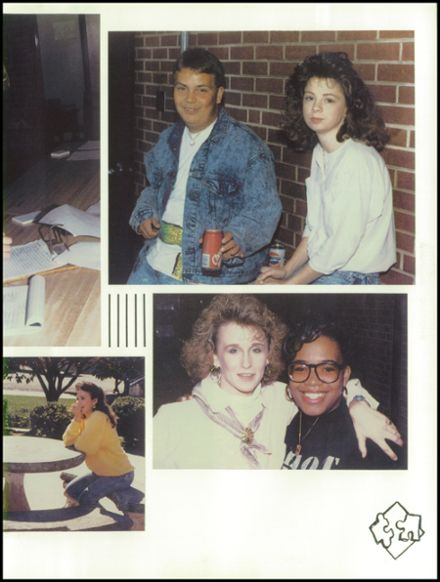 1990 West Lincoln High School Yearbook Page 7