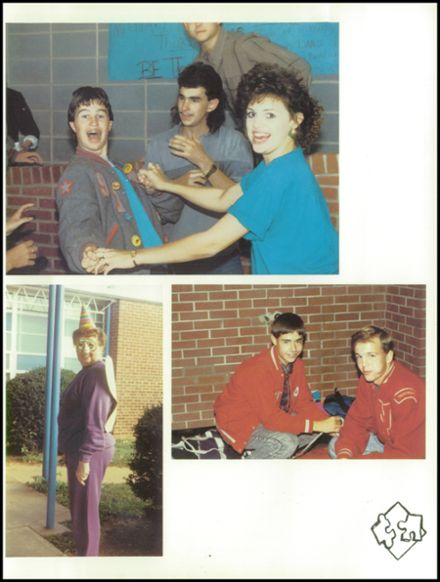 1990 West Lincoln High School Yearbook Page 9
