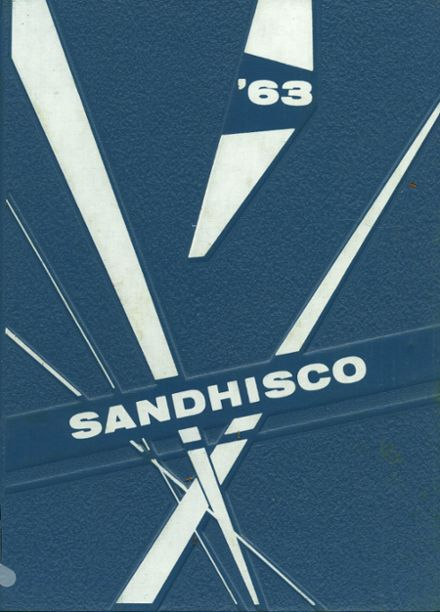 1963 Sandcreek Township High School Yearbook Cover