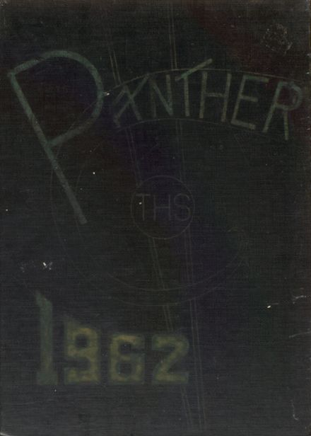 1962 Tripoli High School Yearbook Cover