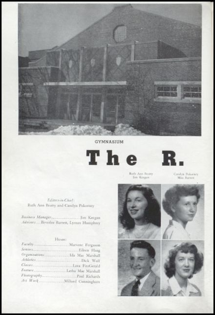 1948 Richland Center High School Yearbook Page 4