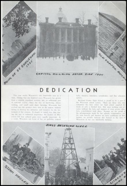 1948 Richland Center High School Yearbook Page 8