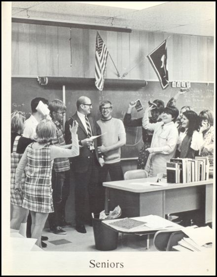 1970 Meeteetse High School Yearbook Page 9