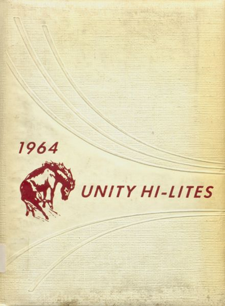 1964 Unity High School Yearbook Cover