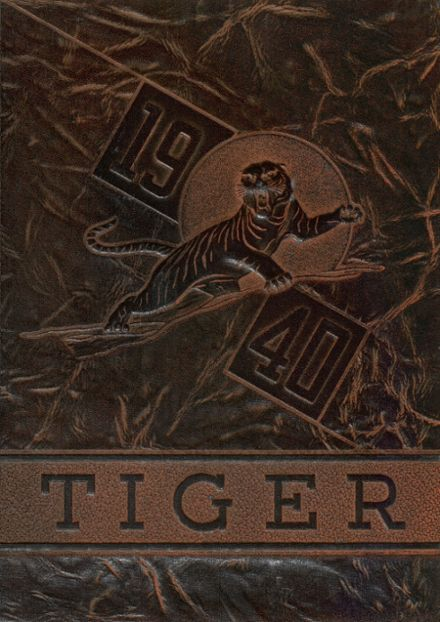 1940 Huron High School Yearbook Cover