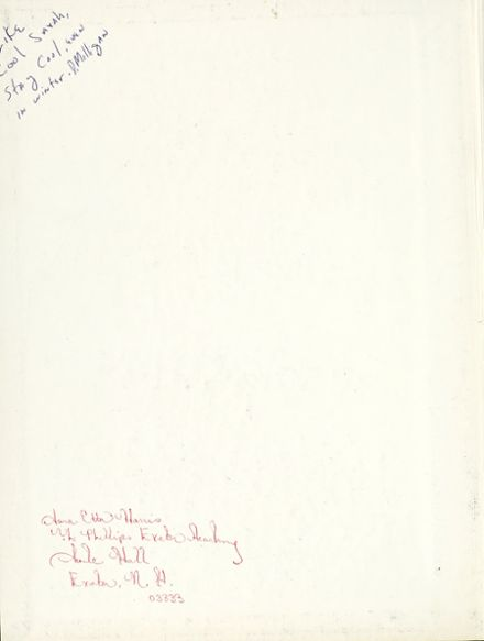 1975 Phillips Exeter Academy Yearbook Page 2